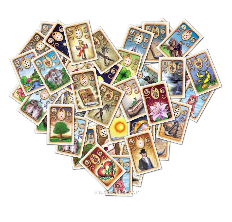 Обозначение карт таро в любовных раскладах